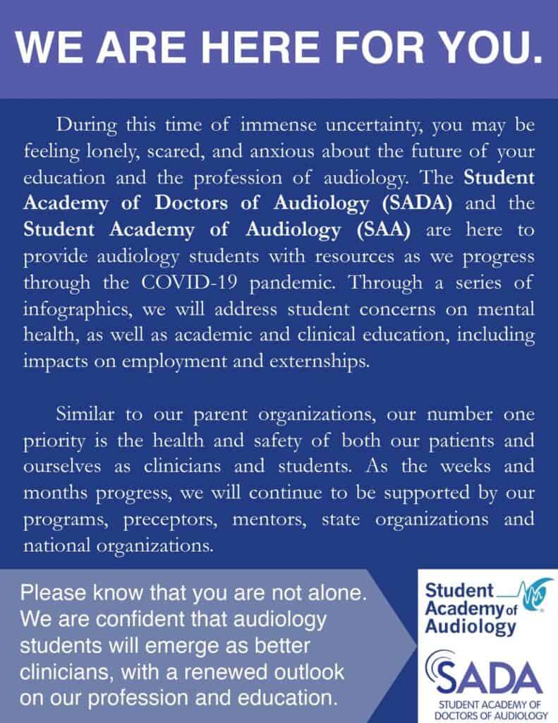 SADA partnership poster